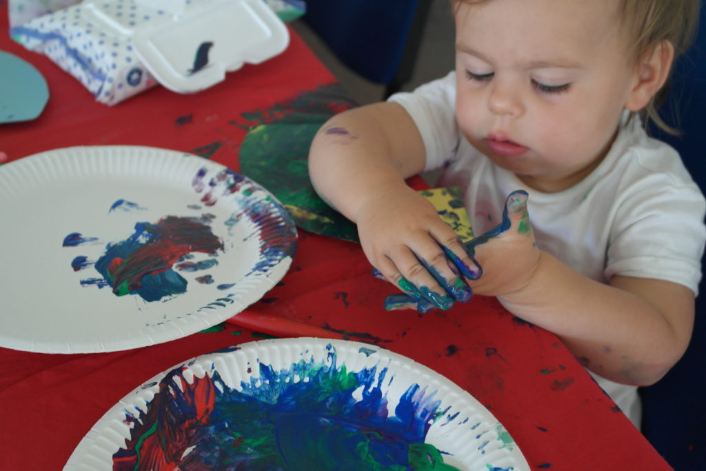 Creative activities painting