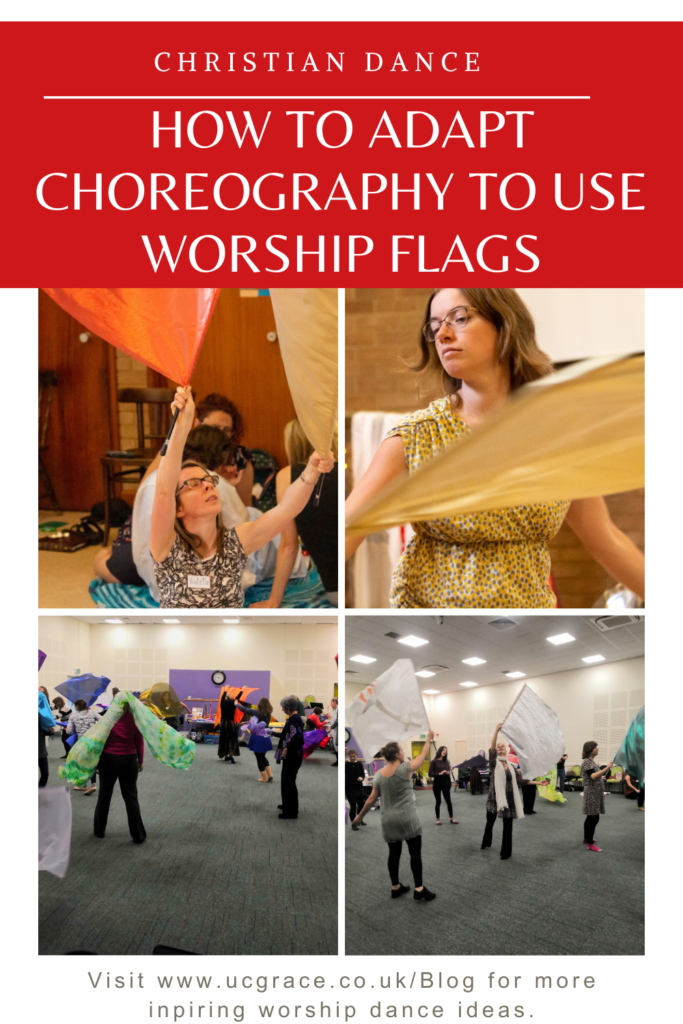 Pinterest adapting choreography with christian dance