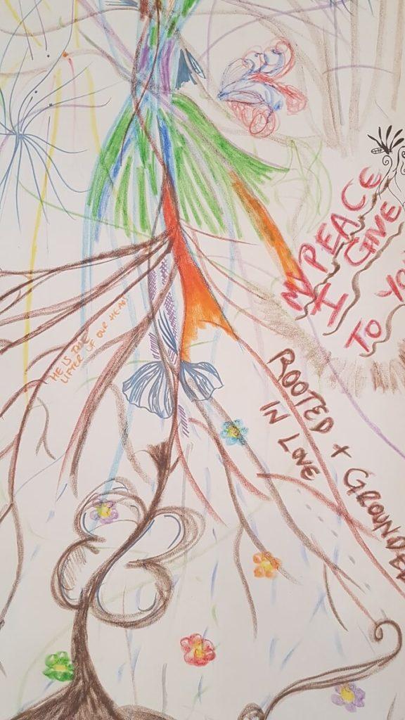 art work exploring roots
