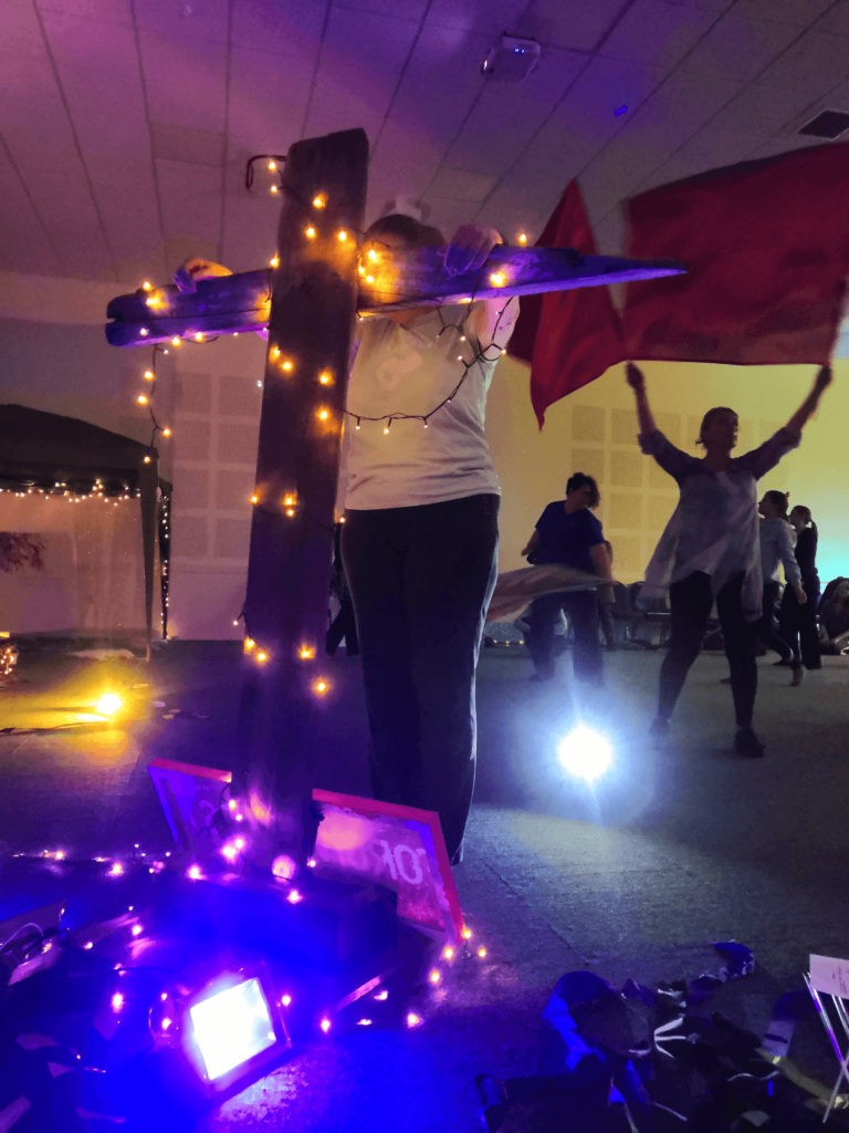 Persevering to Jesus in advent prayer