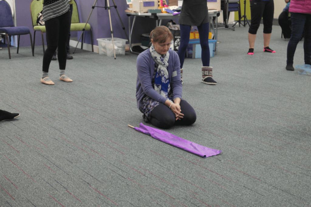 prayer movement kneeling
